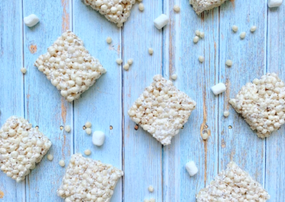 Healthy-ish Krispies Treats