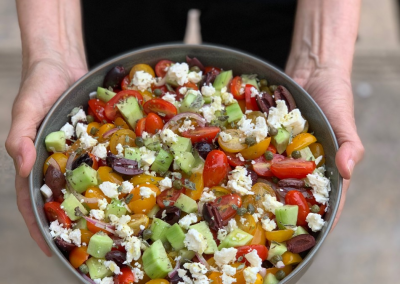 The Perfect Greek Salad