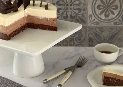 Alice Medrich's Triple Chocolate Mousse Cake