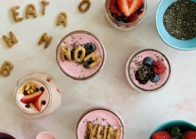 Build Your Own Breakfast Parfaits