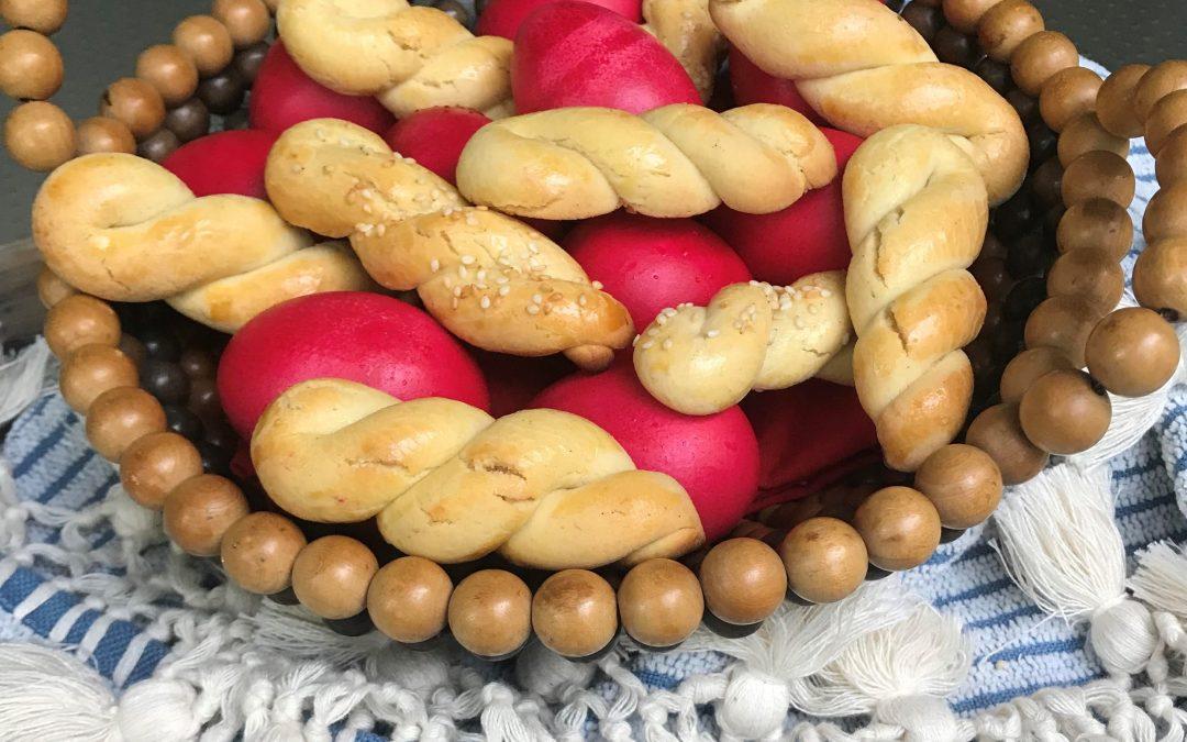 Koulourakia for Greek Easter