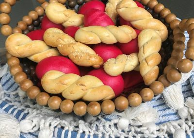 Koulourakia for Greek Easter